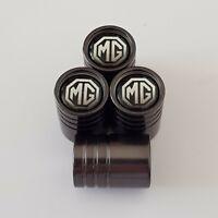 MG Titanium Grey valve Tyre Dust Caps 8 COLORS mgf mgb mgbgt zt zr mg6 mg3