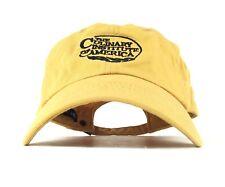 The Culinary Institute of America Embroidered Logo Baseball Cap Hat Adj Men's Sz