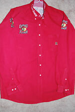 PBR Bull Riding Contestant Shirt Pro Rodeo PRCA Wrangler NFR CINCH SIZE SMALL