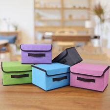 Foldable Underwear Bra Sock Tie Storage Box Closet Organizer Drawer Container HZ