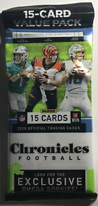 2020-2021 Panini Chronicles NFL Value Cello Pack Factory Sealed
