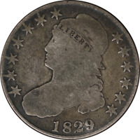 1829/27 Bust Half Dollar - O-102, R.2 Great Deals From The Executive Coin Compan