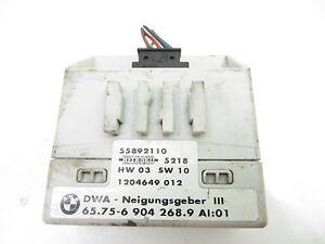BMW E46 3 SERIES ESTATE ALARM SYSTEM SENSOR MODULE 65.75-6904268.9