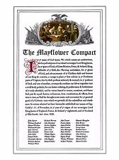 Mayflower Compact Quality Print 24 x 18 Inches