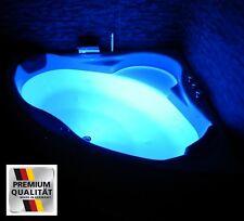 Luxus Badewanne mit Kopfstützen Acryl Eckbadewanne LED Wanne für Badezimmer weiß