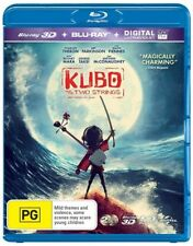 Kubo And The Two Strings (Blu-ray, 2016, 2-Disc Set)