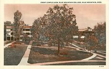 Mississippi, MS, Blue Mountain, Blue Mountain College, Front Campus View PC