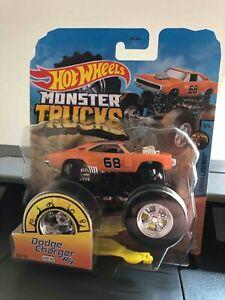 Hot Wheels Dodge Charger R/T Monster Truck 1:64 Scale Crash Legends