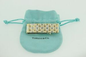 Tiffany & Co 18K Gold and Sterling Silver Money Clip