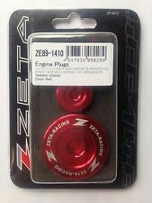 Yamaha Wrf250 Wrf 250 Wr250f 2001-2002 Zeta Motore Spine Rosso