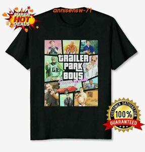 Trailer Park Boys Sunnyvale Comedy Black T Shirt Trailer Park Tee Size S-5XL
