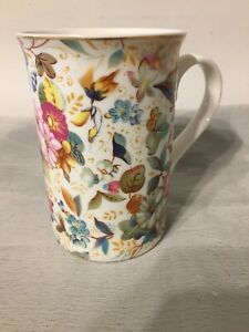 Pretty Decorative Mug By Leonardo Collection Floral
