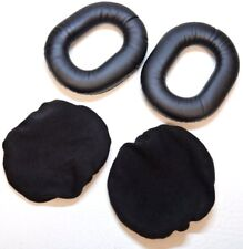Ear Seals to Fit David Clark Headset Earseal Pilots Memory Foam Pads Cushions