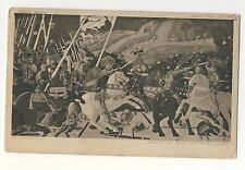 Vintage Postcard - Rout of San Romano - P. Uccello (Medici) - Unposted 2330