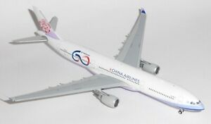 Airbus A330-300 China Airlines 60th Anniv JC Wings Model Scale 1:400 JC4182 G