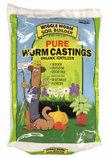 30lb Pound Wiggle Worm Soil Builder Earthworm Castings Organic Fertilizer Omri