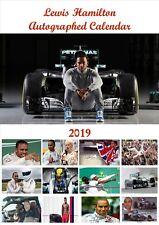 Lewis Hamilton Calendar 2019 A4