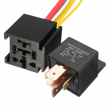 12V 12 Volt DC 80A AMP Relay & Socket SPDT 5Pin 5 Wire For Car Auto Truck Hot