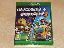 Overcooked! + Overcooked! 2 Xbox One UK Game **BRAND NEW & SEALED**