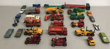 Vintage Lesney Matchbox Lot 25+ Pcs Made in England Toy Cars And Trucks Diecast