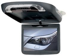 """BOSS FLIP-DOWN ROOF 10.1"""" MONITOR SCREEN DVD/CD/USB/SD/MP3 PLAYER BLACK TAN GRAY"""