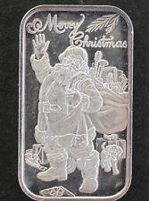 1992 SilverTowne Santa with Toys Silver Art Bar Lot P1600