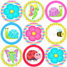 144 Summer Bugs 30mm Children's Reward Stickers for Teachers, Spring Party Bags