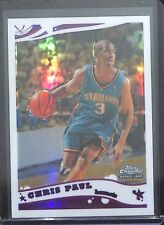 2005-06 Topps Chrome Rookie Refractor #168 Chris Paul No 542 of 999