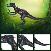 15CM toys jurassic park Black Indoraptor Dinosaur Action Figure K5L6