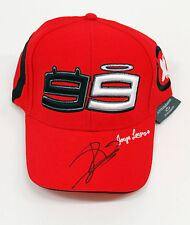 Jorge LORENZO Signed 99 CAP 1 DUCATI Red AFTAL, MotoGP Autograph LEGEND