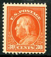 USA 1914 Franklin 30¢ Perf 12 SL Wmk Scott 420 MNH J75