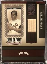2005 WILLIE MAYS Donruss Greats Hall Of Fame Souvenirs Game Used Bat /250