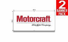 Motorcraft 1 24 X 48 Inch Vinyl Banner 2 Pack