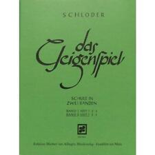 Das Geigenspiel Band 2 Teil 1 von Schloder Josef - Noten für Violine