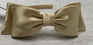 Janie And Jack NWT Girl's Youth Gold Bow Head Band B9