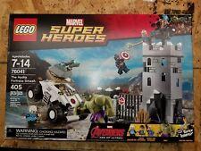 Lego 76041 The Hydra Fortress Smash NEW Marvel Super Heroes Hulk Quicksilver