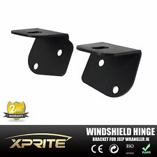 2007 - 2017 Jeep Wrangler JK Windshield Hinge Lower Corner Bracket For LED Light