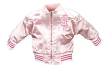 Adidas NCAA Newborn North Carolina State Satin Cheer Jacket - Pink