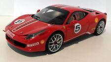 Voitures miniatures de tourisme rouge Hot Wheels 1:18