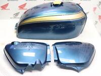 Honda CB 750 Four K2 Lacksatz Planet Blue Tank + Seitendeckel Reproduktion