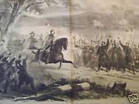 1862 Harper's Weekly - Nov. 29 - McClellen takes leave