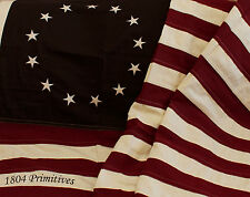 "Large 58"" BETSY ROSS American FLAG ~ 100% Cotton"