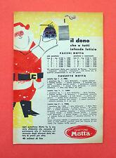 D242 - Advertising Pubblicità - 1953 - MOTTA PANETTONE  , PACCHI E CASSETTE