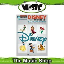 New Hal Leonard Easy Instrumental Play Along: Disney for Trombone Music Book
