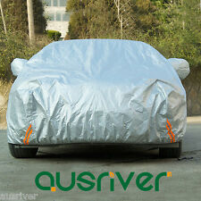 For Audi A3 A4 A5 A6 A7 A8 Dustproof Car Cover UV Resistant Free Safty Chain