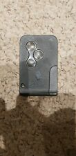 Renault Scenic key card 3 button