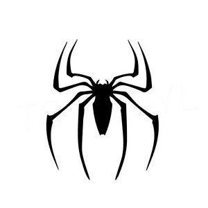 """6"""" SPIDERMAN LOGO Vinyl Decal Sticker Car Window Laptop Marvel Super Hero Spider"""