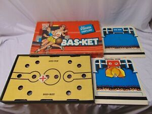 1956 Cadaco Ellis Basketball in Miniature board game in box #165 USA w/ hoop