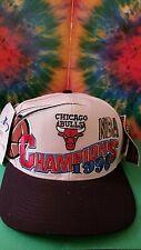 Vintage *1996* Championship Snap Back Hat   NEW w/tags Majestic  Jordan
