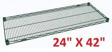"METRO 24"" X 42"" SUPER ERECTA HEAVY-DUTY WIRE SHELVING METROSEAL 3 GREEN **XLNT**"